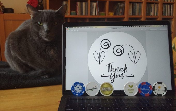 Thank You Token logo, sample tokens & Gratitude Project assistant, Eggs Benedict