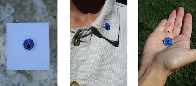 An official DOH pin badge