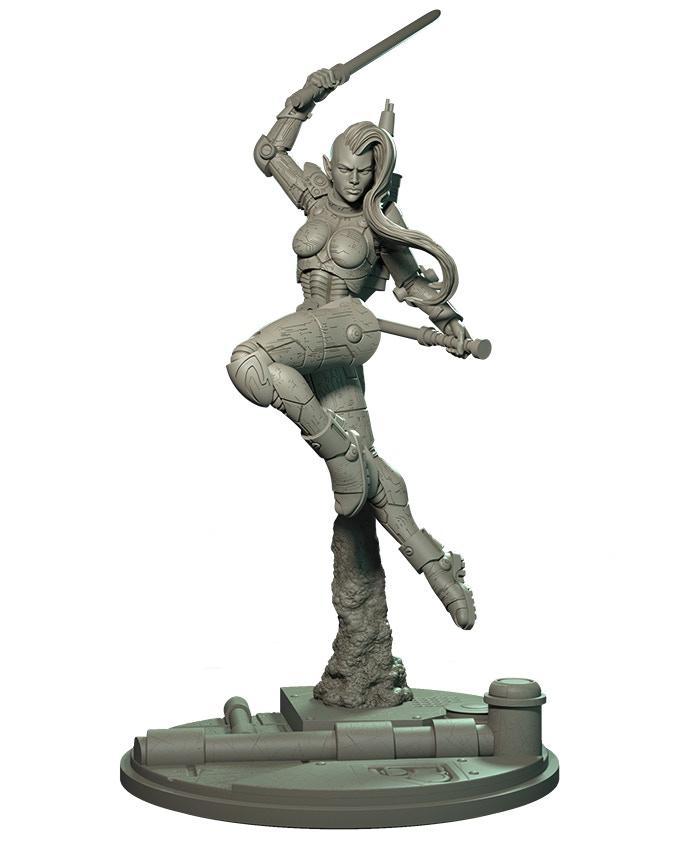 Sculpt by Raul García Latorre