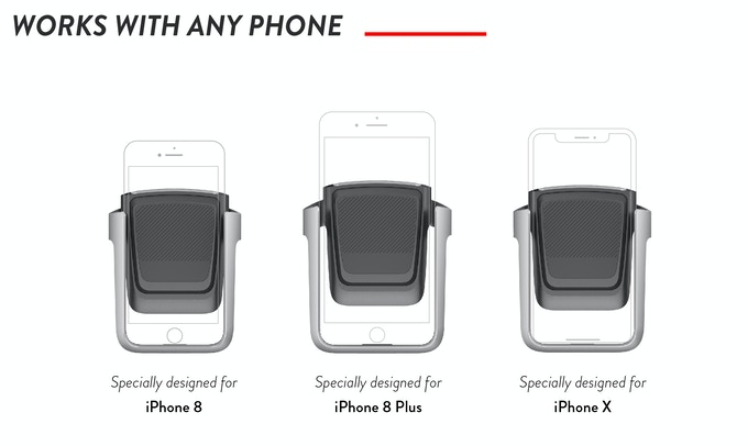 1:1 specially designed for newest iPhone series (without phone case)