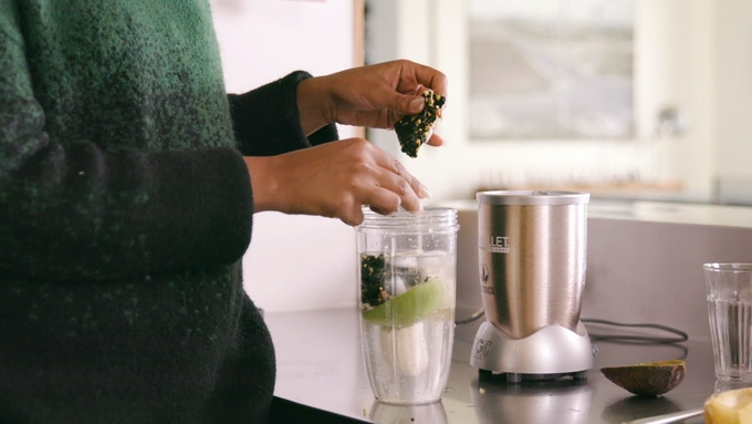 Add Human Food to smoothies