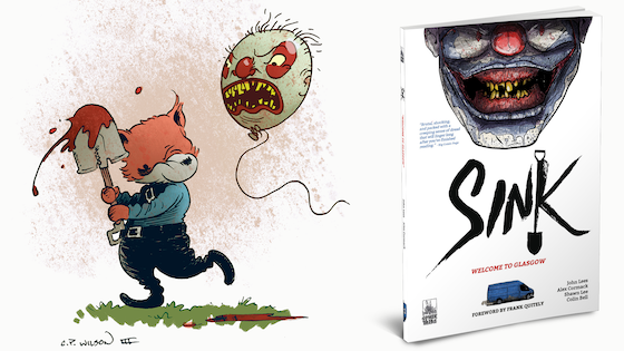 SINK Vol 1: Welcome to Glasgow - Crime/Horror Graphic Novel