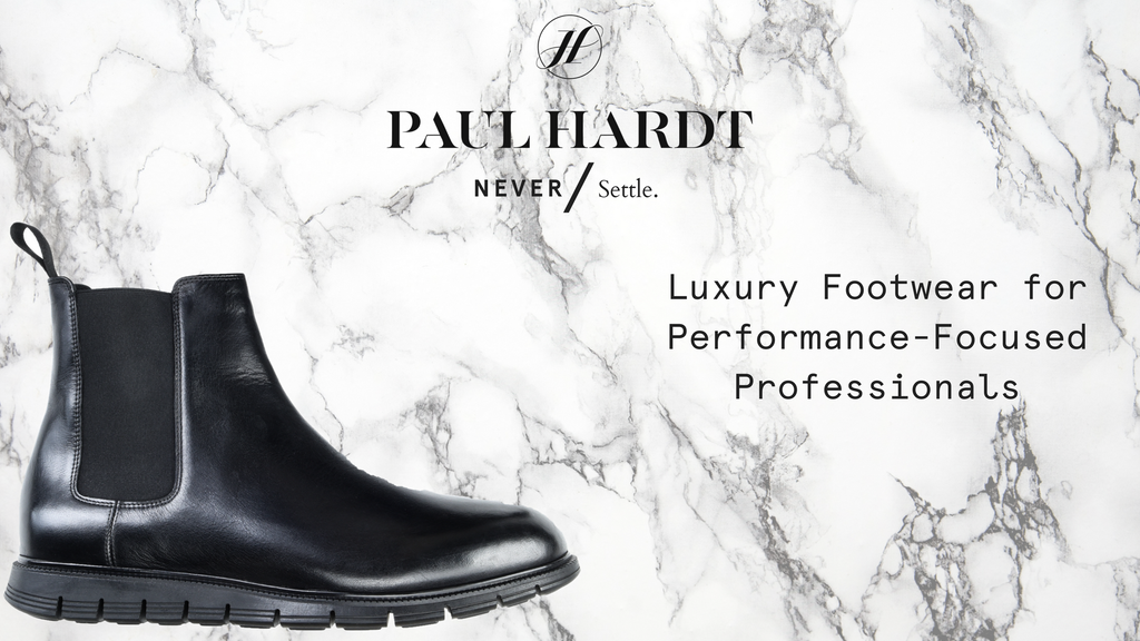 Luxury Footwear for Performance Focused Professionals project video thumbnail