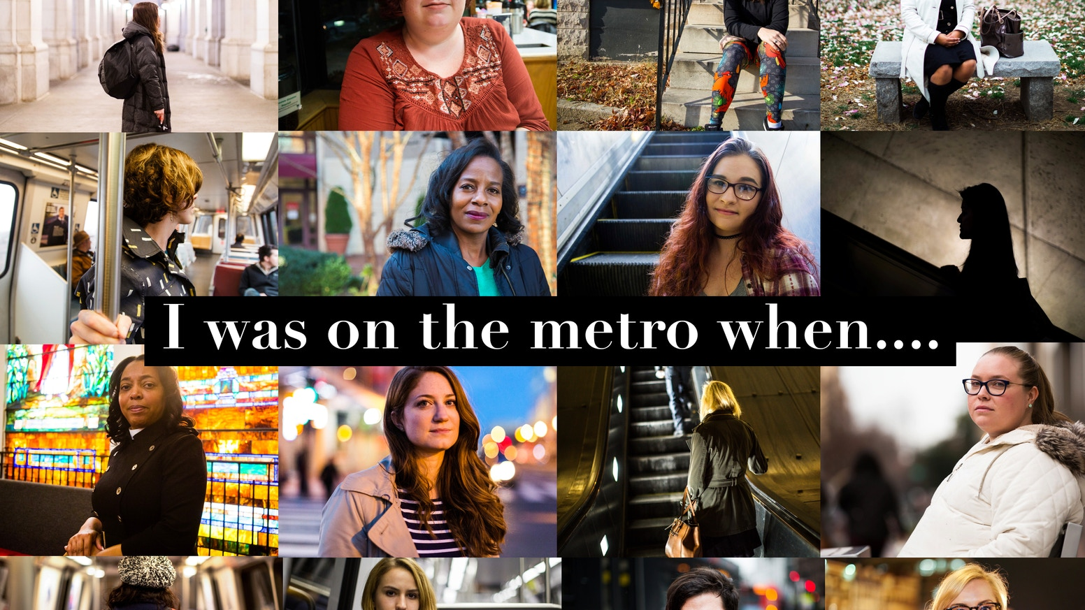 Documenting stories of sexual assault and harassment within public spaces from Washington, D.C. to Maine road trip.