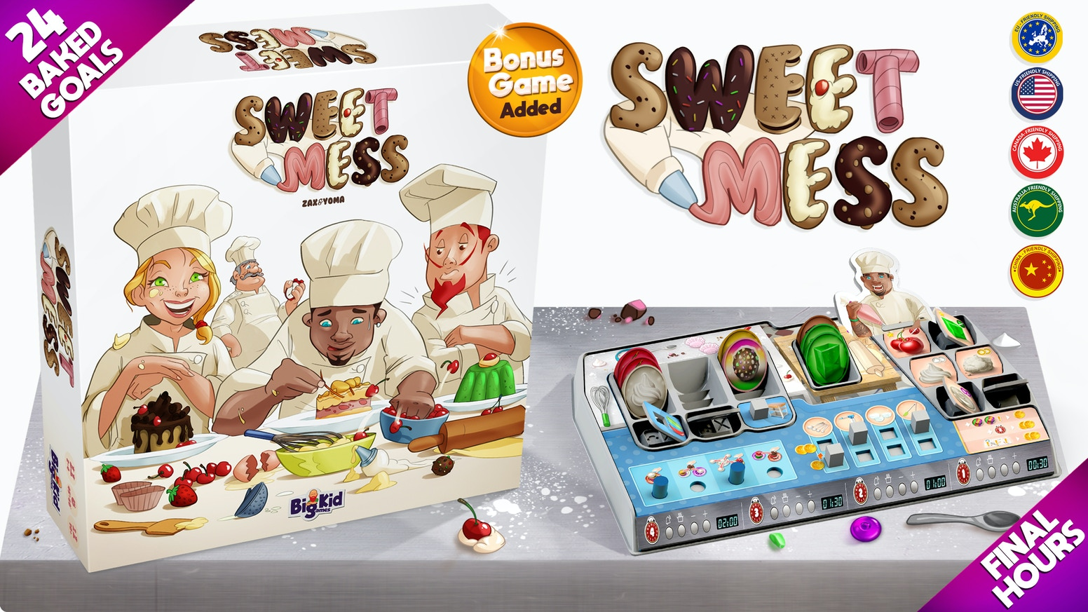 Join the Sweet Mess baking competition this Spring. Coming to a retailer near you.