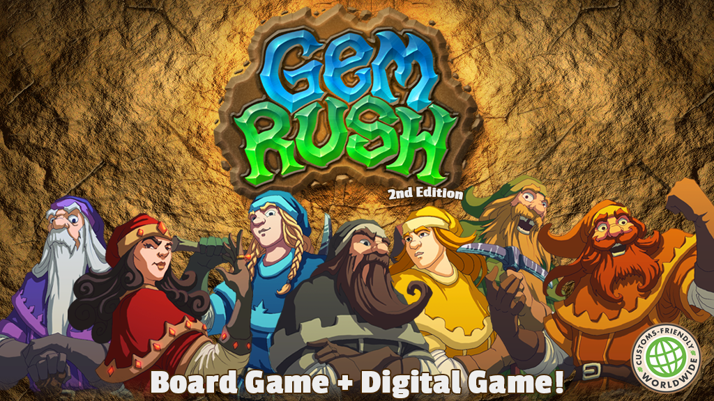 Gem Rush: Second Edition project video thumbnail
