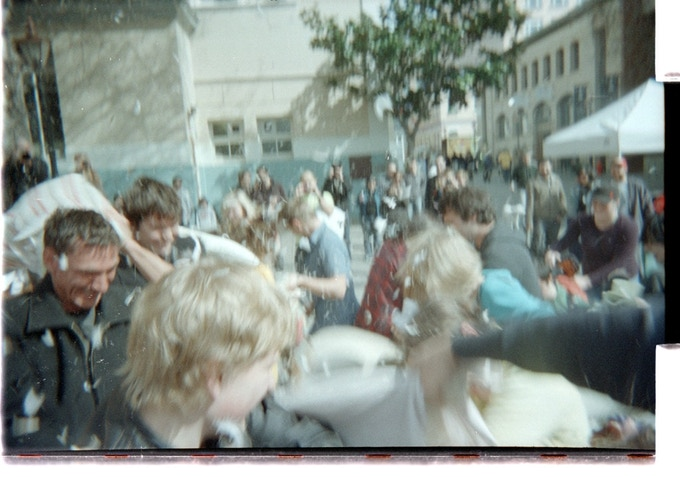 Public Pillow Fight from Camera #007