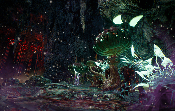 Navigate through perilous paths and face obscure traps, like exploding plants and binding webs!