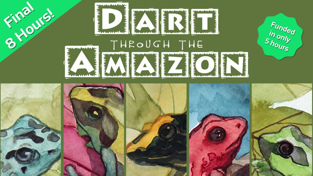 Dart through the Amazon: The 1-4 Player Card Game project video thumbnail