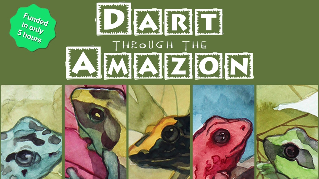 Dart through the Amazon: The 1-4 Player Card Game