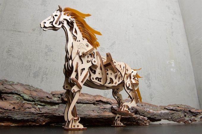 Ugears Horse-Mechanoid Model