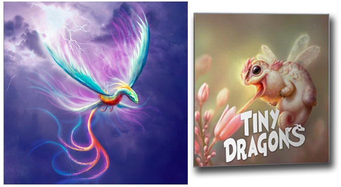 Tiny Dragons Art Project
