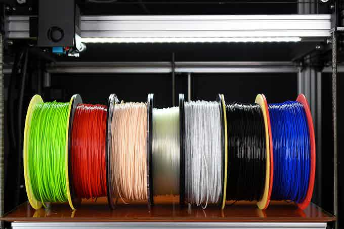 The number of filament types supported are as diverse as your imagination.