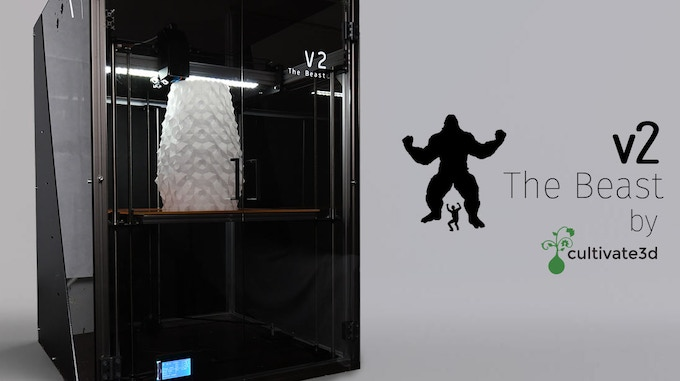 The Beast V2 by Cultivate3D
