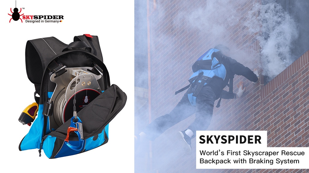 SkySpider: World's First Skyscraper Rescue Backpack project video thumbnail