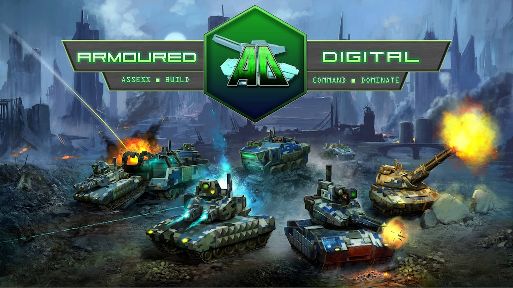 Armoured Digital Miniatures Wargame project video thumbnail