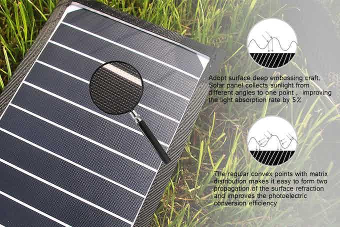 Solar Panel Surface Detail