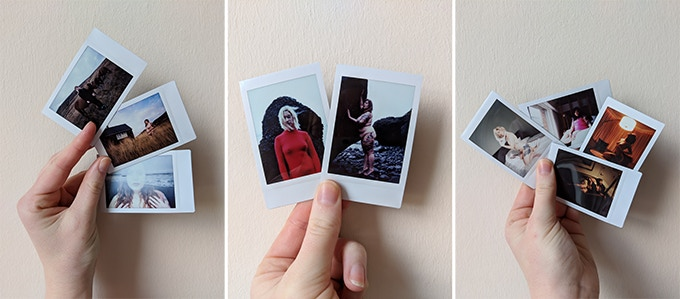 Instax photos from some of our previous photo adventures!
