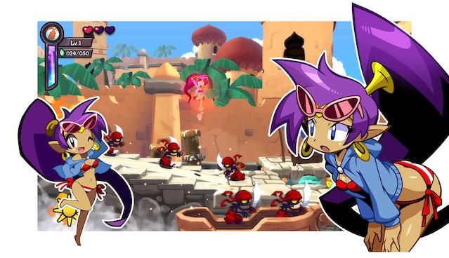 WayForward details Shantae: Half-Genie Hero's Costume Pack