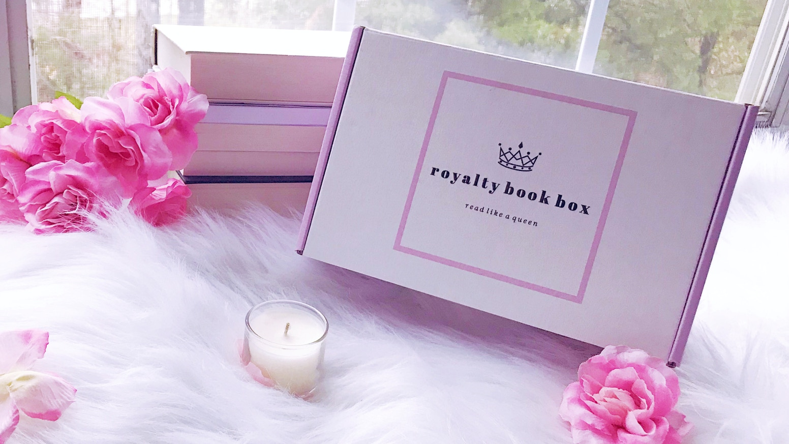 A book box subscription for readers who love romance books and self-care.