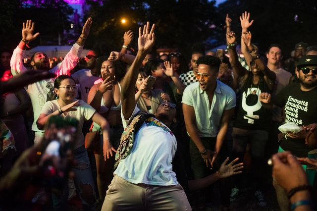 Afropunk 2017 (Elias Williams / Gothamist)