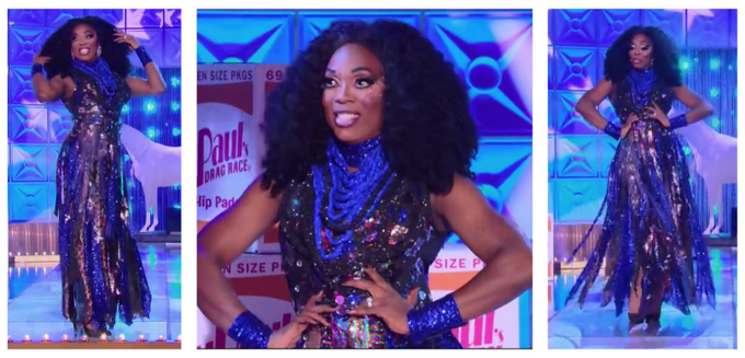 BeBe's Warhol Ball Challenge Gown from All Stars 3!