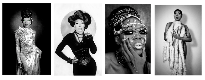 4x Vintage BeBe Art Prints by our dear photographer friend Terry Hastings!