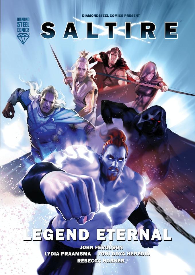 Saltire Legend Eternal Cover