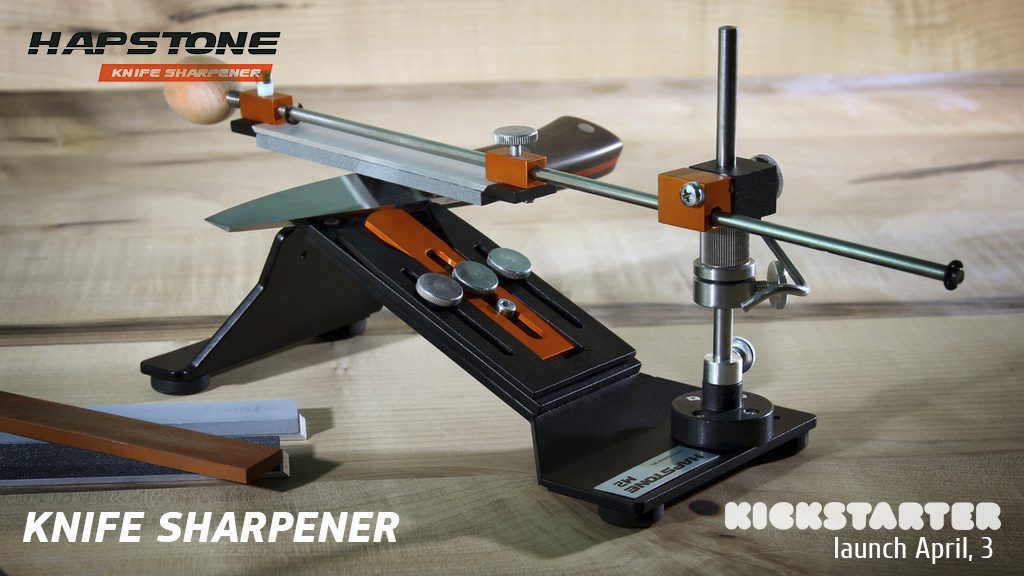 Hapstone M2 Knife Sharpener project video thumbnail