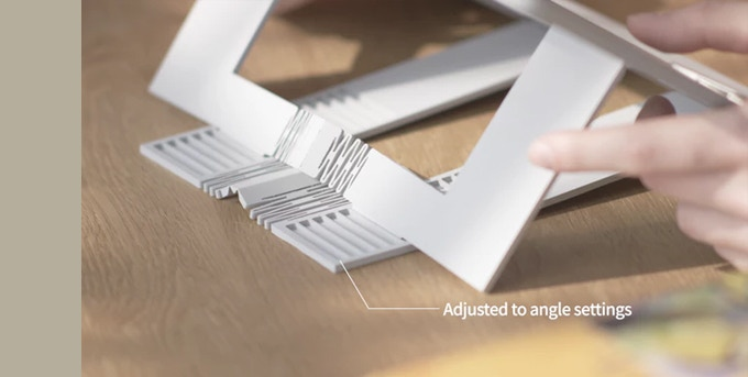 Booklign's solution is simple. Just set the book at your desired angle. No matter how expensive a chair you use if you don't have a comfortable reading angle, perfect posture will be compromised.