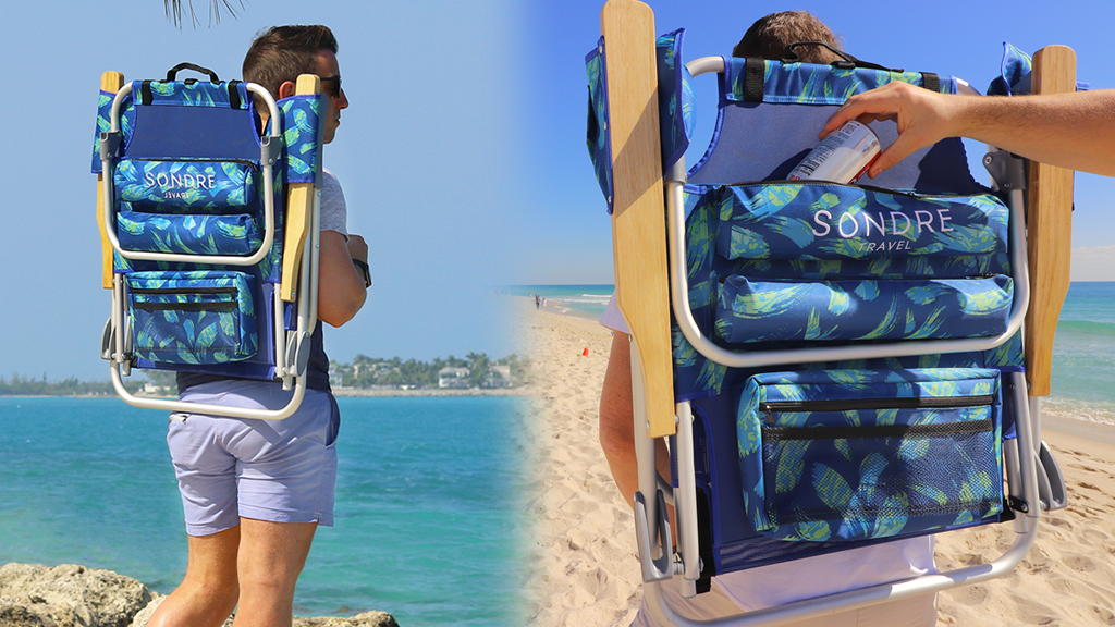 The Voyage Chair | The Beach Chair Reimagined project video thumbnail
