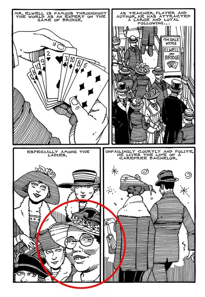 An example of a backer being drawing into the story.