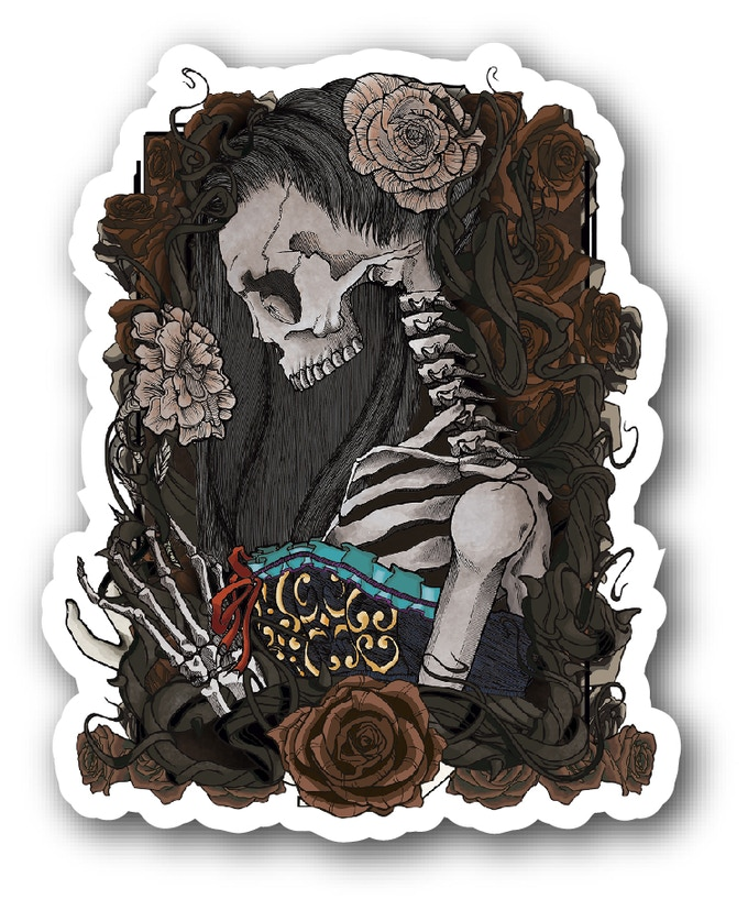 Muertas sticker