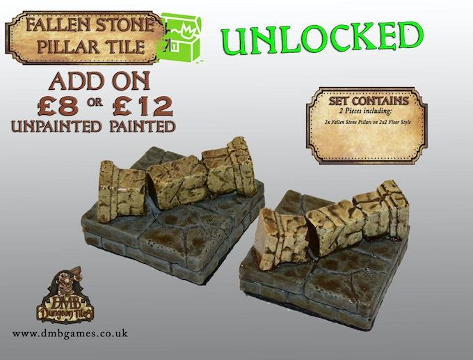 Stretch Goal 22: £12,500 - Fallen Stone Pillar - UNLOCKED!