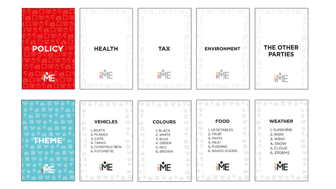 Policy and Theme card examples