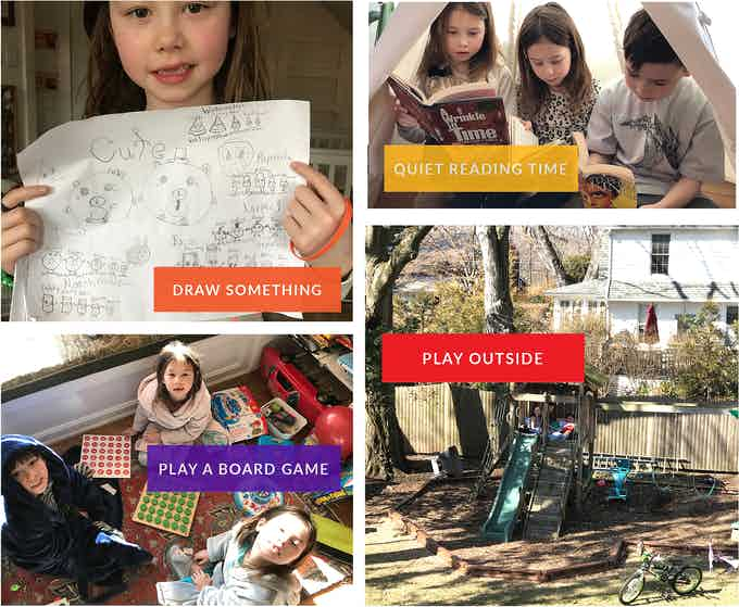 Just a few of the many awesome analog activities that we love!