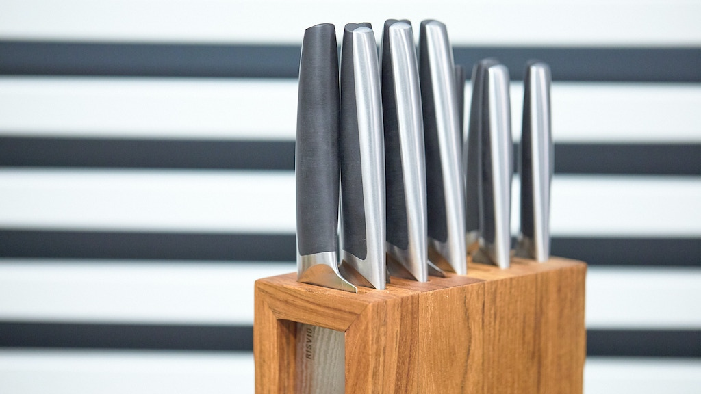 Knife block - Designed by IF and Red dot winner JLE Design