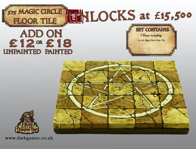 Stretch Goal 28: £15,500 - Magic Circle 5x5 - LOCKED!