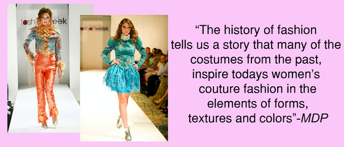 Della Penna's designs from TAMPA BAY FASHION WEEK