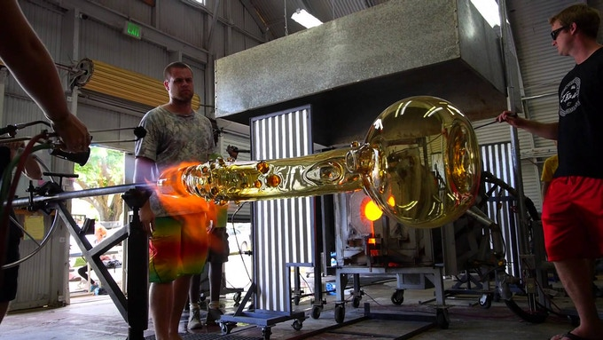 Jerome Baker creates the most iconic glass pieces in the world