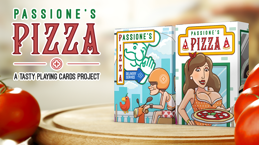Project image for Pizza - a tasty playing cards project (Canceled)