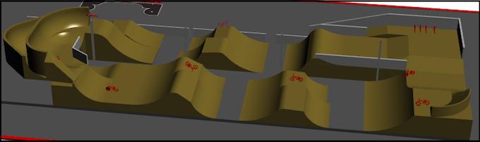 Draft Jump Line Design - Angle 1