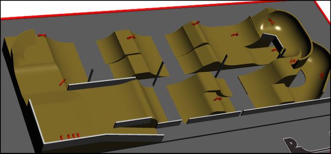 Draft Jump Line Design - Angle 2