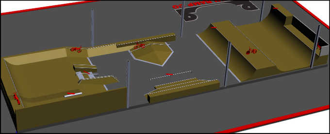 Draft Street Section Design - Angle 2