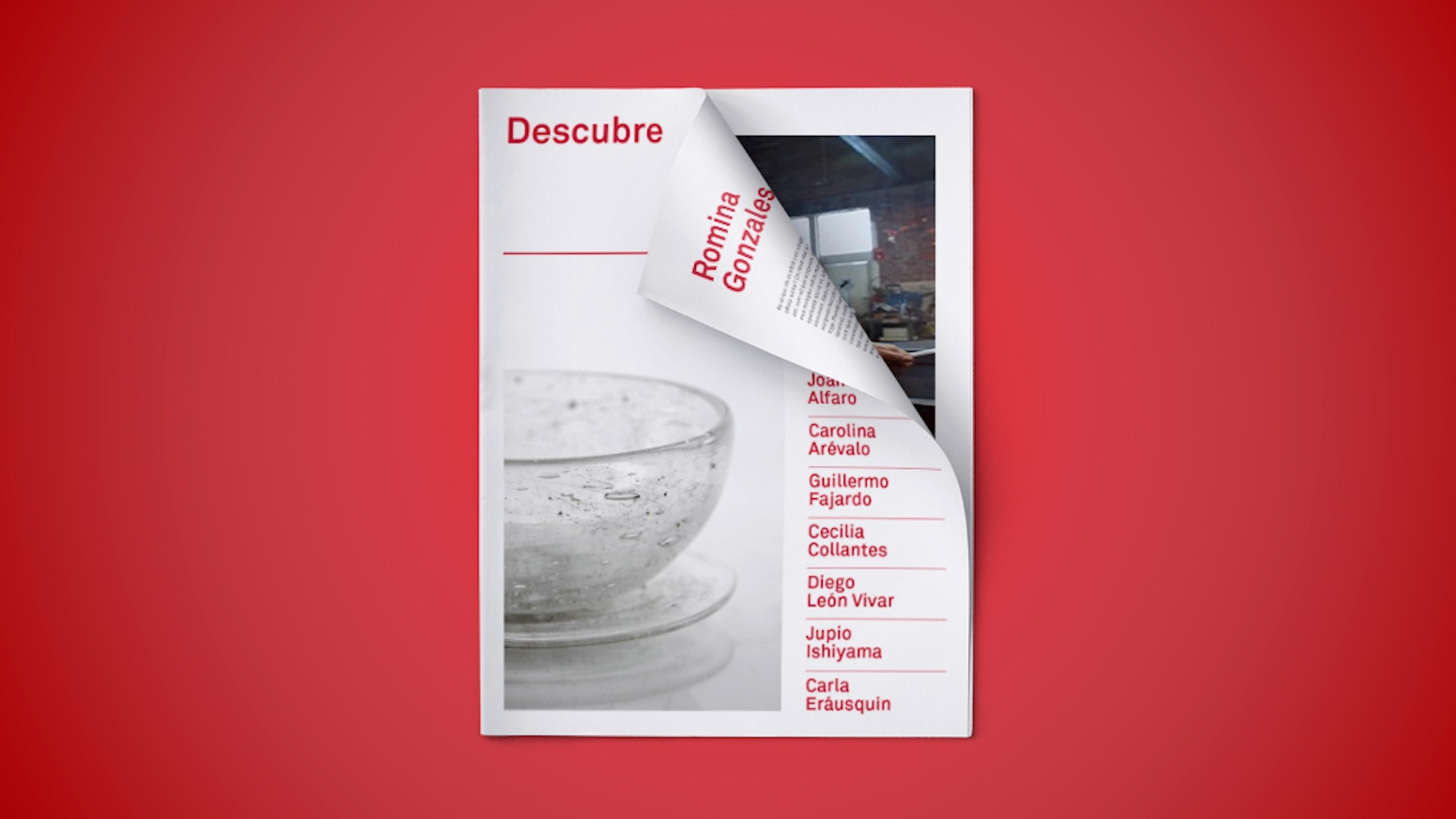 A publication showcasing the work of Peruvian contemporary artists and designers
