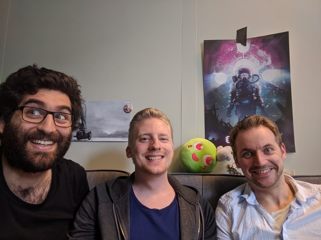 Zein, Utz, Kevin: The highly serious people of the Game Haus Talk