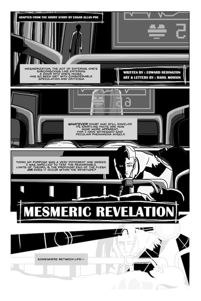 Mesmeric Revelation by Eddy Hedington and Rahil Mohsin