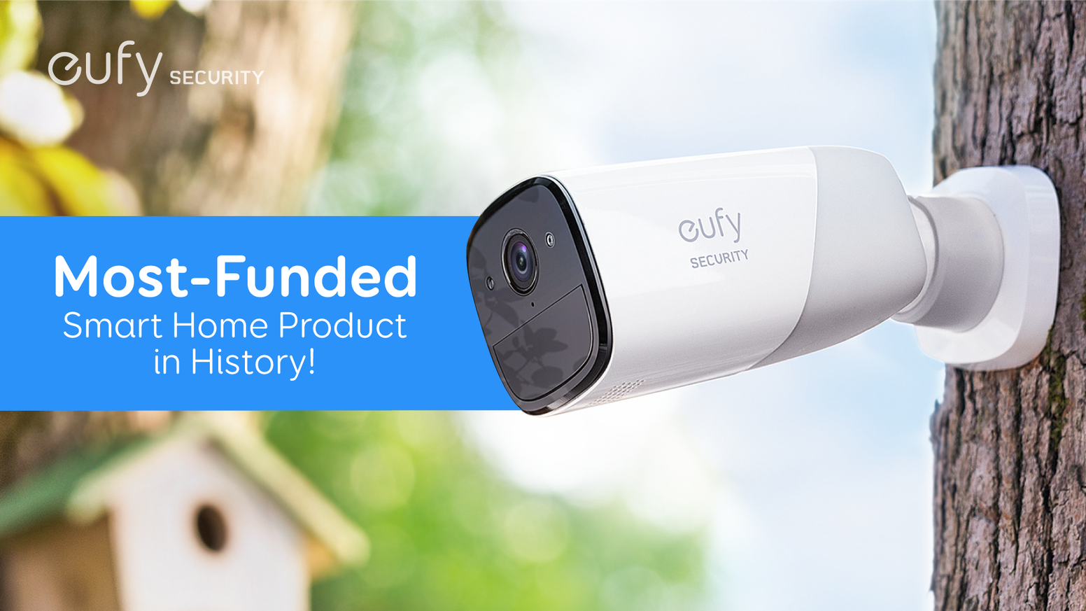 eufyCam: The Wirefree Security Cam with 365-Day Battery is the top crowdfunding project launched today. eufyCam: The Wirefree Security Cam with 365-Day Battery raised over $3139558 from 8803 backers. Other top projects include Village Pillage - a 30-minute game of risk and betrayal!, Pokemoth Enamel Pins (Canceled), Vite Ramen: The Nutritionally Complete Instant Ramen....