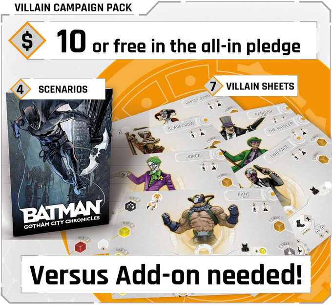 Click on the picture to learn more about the Villain Campaign Pack