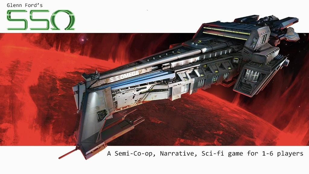 SSO: A Semi-Co-op, Narrative, Sci-fi game for 1-6 players